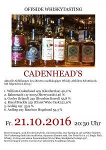 cadenhead-tasting